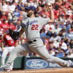 Dodgers y Kershaw superan a los Rojos; Yankees se derrumba ante Indians